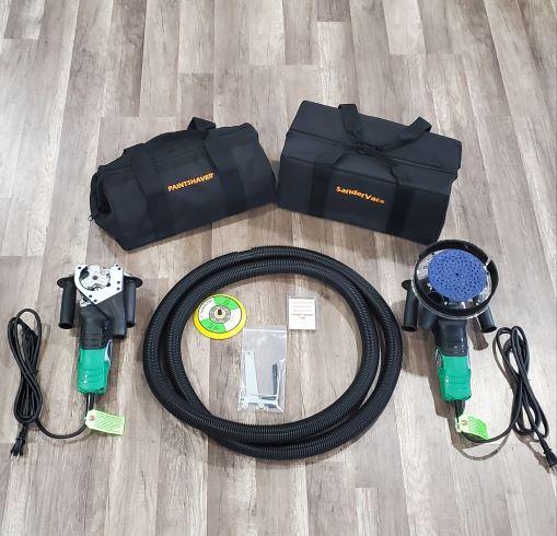 8 Amp Paintshaver® Pro Combo Kit