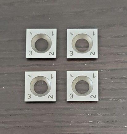 Gelpeel Pro Replacement Tungsten Carbide Blades