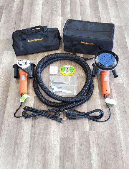 240 Volt MarineShaver Pro/ Orbital SanderVac Combo Kit