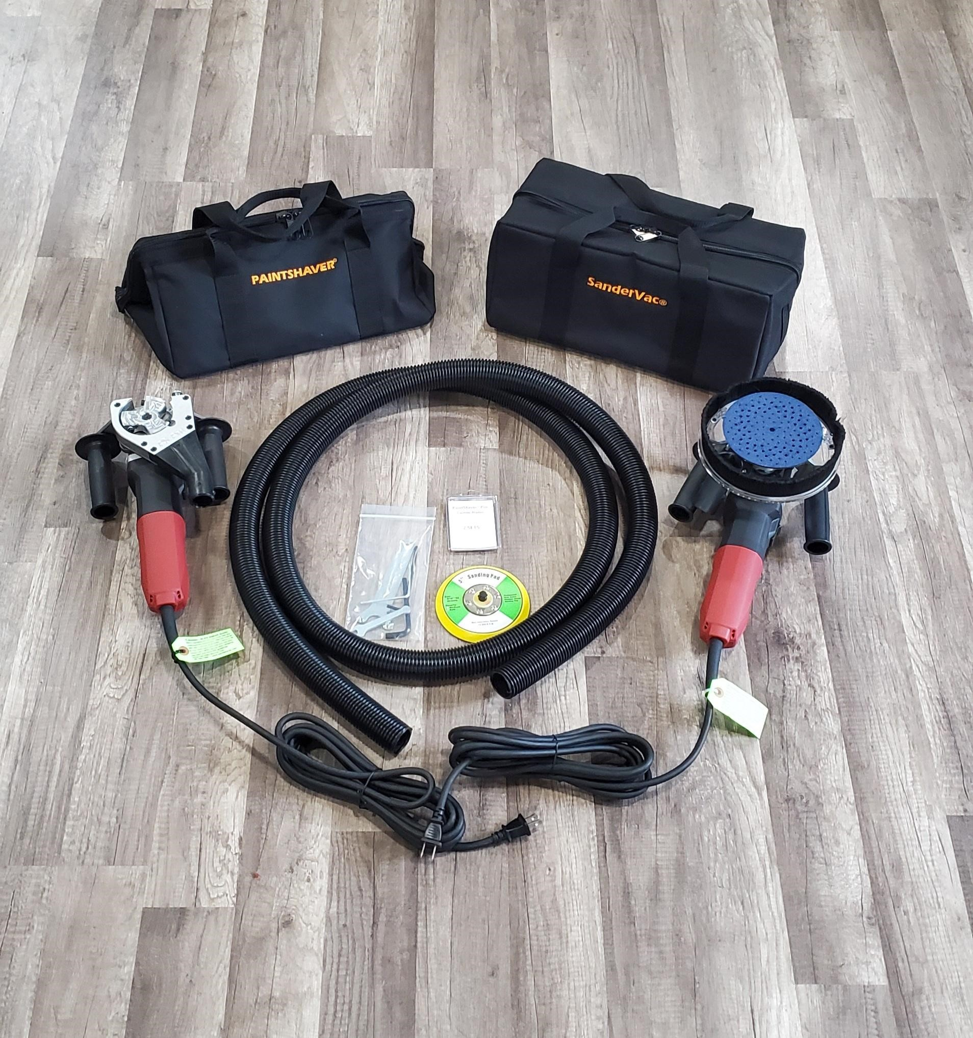 9 Amp Paintshaver® Pro Combo Kit